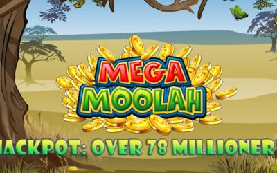 78 mill i potten – Mega Moolah-uke hos Coolbet